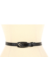 Lodis Accessories - Abbot Kinney Skinny Leather Inset Pant Belt