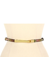 Lodis Accessories - Palm Springs Adjustable Elongated Hook Closer Belt