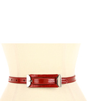Lodis Accessories - Mulholland Skinny Inset Buckle Pant Belt