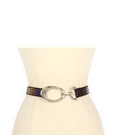 Lodis Accessories - Palm Springs Adjustable Oval Hook Belt