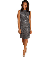 Kenneth Cole New York - Abstract Lace Sequin Dress