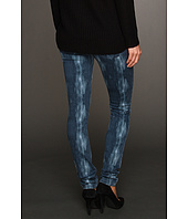 Calvin Klein Jeans - Distressed Ikat Print Ultimate Skinny in Eclipse