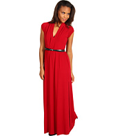 Kenneth Cole New York - Knit Maxi Dress w/ Belt