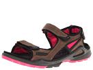 ECCO Sport - Biom Chiappo Terrain Sandal (Espresso/Beetroot) -