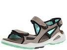ECCO Sport - Biom Chiappo Terrain Sandal (Warm Grey/Emerald) -