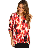 Kenneth Cole New York - Bright Sunset Print Tunic Top