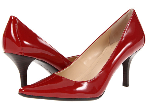 Shop Calvin Klein online and buy Calvin Klein Dolly Red Two Tone Patent Footwear - Zappos.com is proud to offer the Calvin Klein - Dolly (Red Two Tone Patent) - Footwear: The classic and versatile Dolly pump from Calvin Klein will keep your look polished season after season. ; Please note: Calvin Klein's wide and narrow sizes are labeled within the style name. I.e. A size 7 Medium will be labeled E3676 7M. A size 7 Wide will be labeled E3676W 7M. The W in the style name reflects it is wide. An N in the style name reflects it is narrow. ; Available in a variety of upper materials. ; Flattering pointed toe. ; Lightly padded footbed. ; Man-made sole. ; Imported. Measurements: ; Heel Height: 3 in ; Weight: 7 oz ; Product measurements were taken using size 10, width M. Please note that measurements may vary by size.