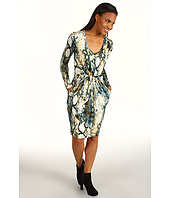 Kenneth Cole New York - Camo Snake Dress w/ Waist Pleats