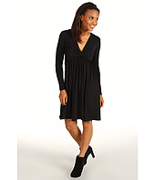 Kenneth Cole New York - Knit Dress w/ Raw Edge Pleat Detail