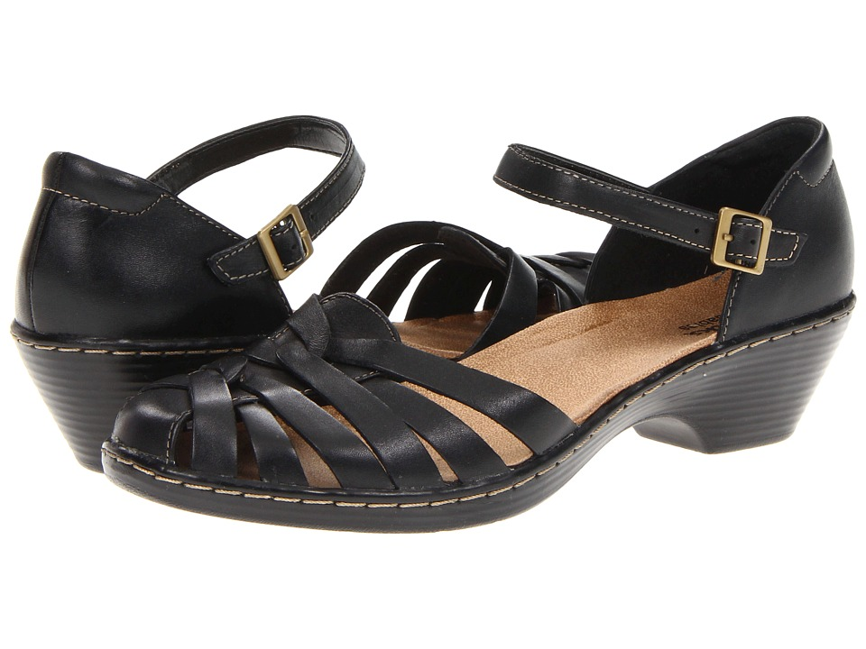 Clarks Wendy Land (Black) Women's  Shoes