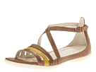 ECCO - Flash 3 Strap Sandal (Sand/Olive Oil) - Footwear