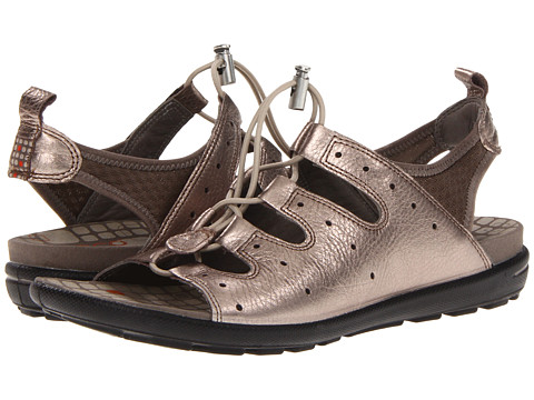 ECCO Jab Toggle Sandal - Warm Grey Metallic/Warm Grey