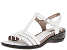 ECCO - Sensata T-Strap Sandal (White/White) -