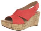 Clarks - Caslynn Lizzie (Red Nubuck) - Clarks Shoes