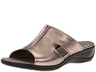 ECCO - Sensata Sandal Slide (Warm Grey Metallic) Sandal