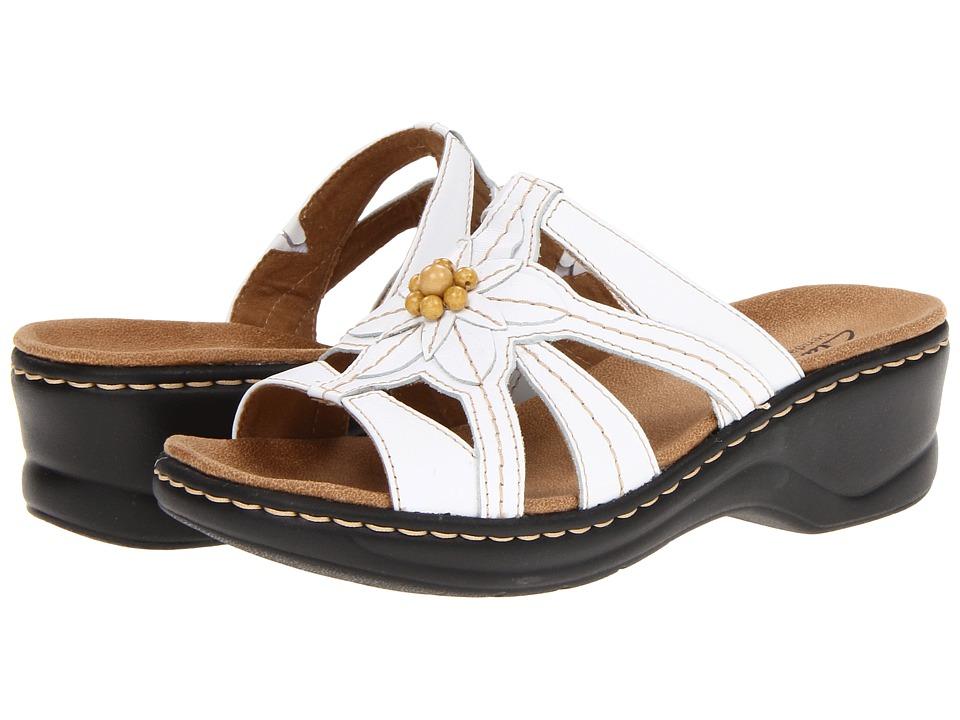Clarks Lexi Myrtle (White) Women's Shoes