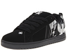 DC - Court Graffik SE (Black/Metallic Silver) - Footwear