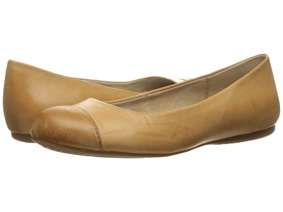 SoftWalk Napa (Tan/Luggage Soft Dull Leather) Flats