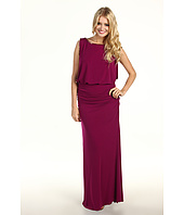 Laundry by Shelli Segal - Beaded Blouson Jersey Gown