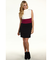 Laundry by Shelli Segal - Mock Neck Color Block Dress