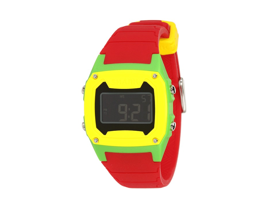 Freestyle Shark Classic Silicone Red/Green/Yellow Watches