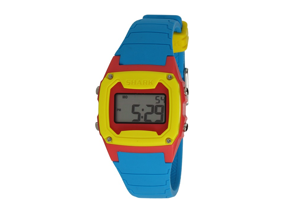 Freestyle Shark Classic Silicone Cyan/Pink/Yellow Watches
