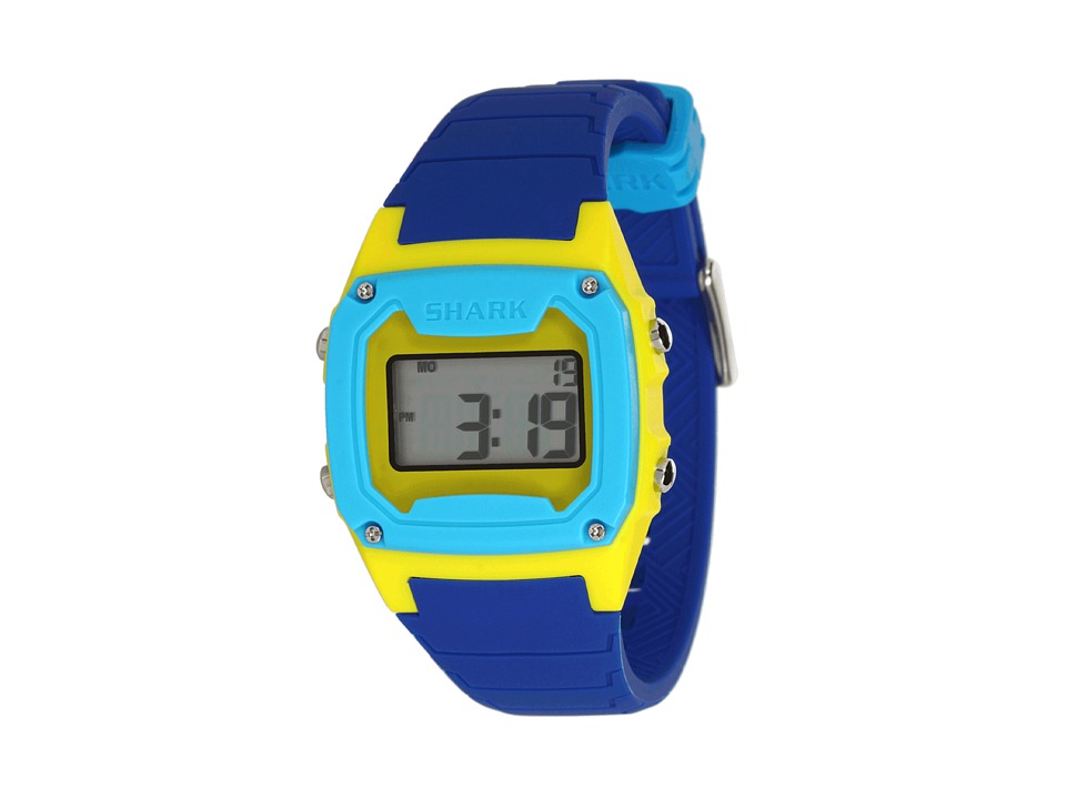 Freestyle Shark Classic Silicone Blue/Yellow/Cyan Watches