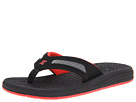 DC Kids - Cabo (Toddler/Youth) (Black/Red) - Footwear