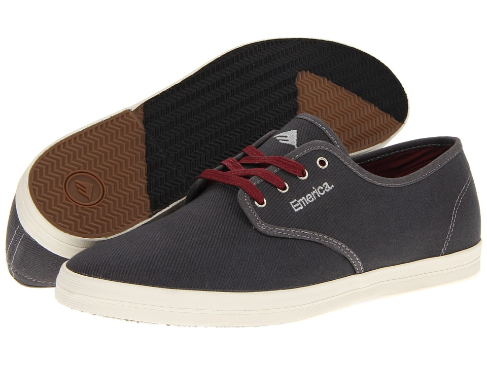 Emerica The Wino (Grey/Grey Cotton Twill) Men