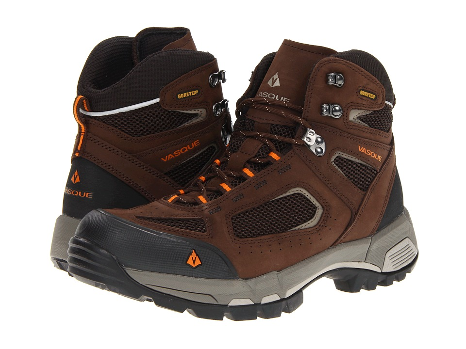 Vasque - Breeze 2.0 GTX (Slate Brown / Russet Orange) Men