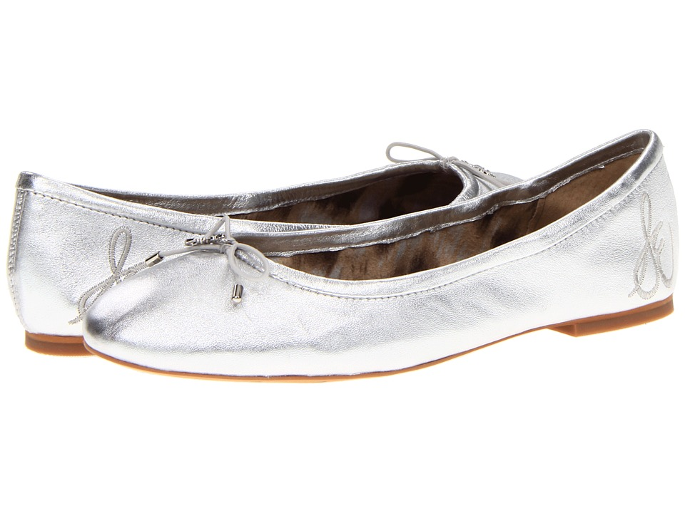 Sam Edelman Felicia (Silver Leather) Flats