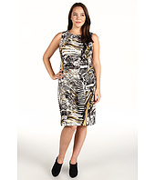 Calvin Klein - Plus Size Autumn Print Ponte Shift Dress