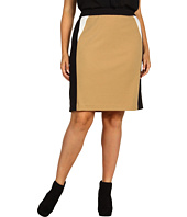 Calvin Klein - Plus Size Colorblocked Skirt