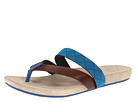 Paul Smith - Kodiak Sandal (Dark Brown/Turquoise) Sandal