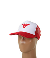 Cheap Fallen Trademark Mesh Hat White Red