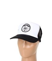 Cheap Fallen Hazard Mesh Hat White Black