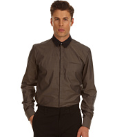 Costume National - Slim Fit Shirt with 60s Collar