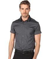 Costume National - Short Sleeve Shirt with Contrast Details