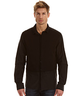 Costume National - Slim Shirt with Knit Panels
