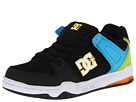 DC Kids - Mongrel (Toddler/Youth) (Black/White/Yellow) - Footwear