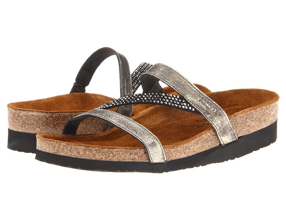 Naot Hawaii (Metal Leather) Sandals