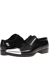 DSQUARED2 - Buffed Silver Rockabilly Laced Up Oxford
