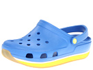 Crocs Kids - Retro Clog (Infant/Toddler/Youth) (Varsity Blue/Burst) - Footwear