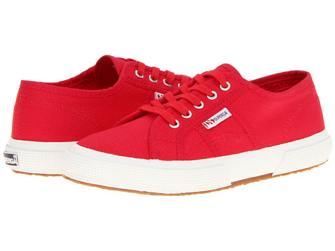 Superga Kids 2750 JCOT Classic (Toddler/Little Kid) - Maroon Red