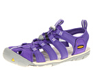 Keen - Clearwater CNX (Ultra Violet/Whisper White) - Footwear