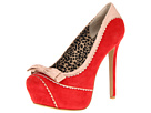 Jessica Simpson - Jeorge (Runway Red Kid Suede) - Footwear
