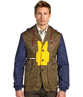 DSQUARED2 - Color Block Mixed Jacket