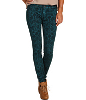 Rich & Skinny - Python Print Denim in Teal