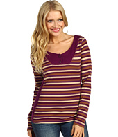 BCBGeneration - L/S Striped Rib Knit Top
