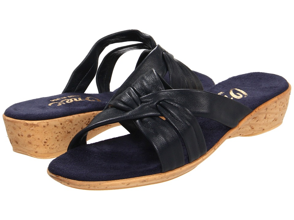 Onex Sail (Navy) Wedge Shoes